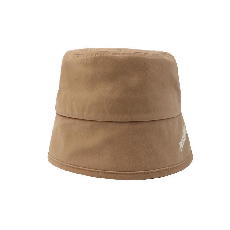 Custom design khaki embroidery or printing logo summer sun bucket hats caps