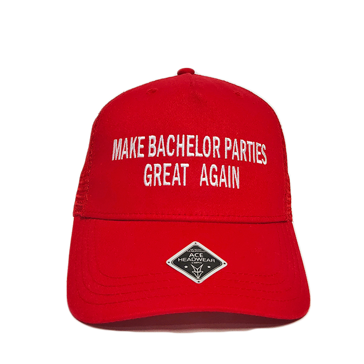high-quality mens trucker caps words free sample for beauty-1