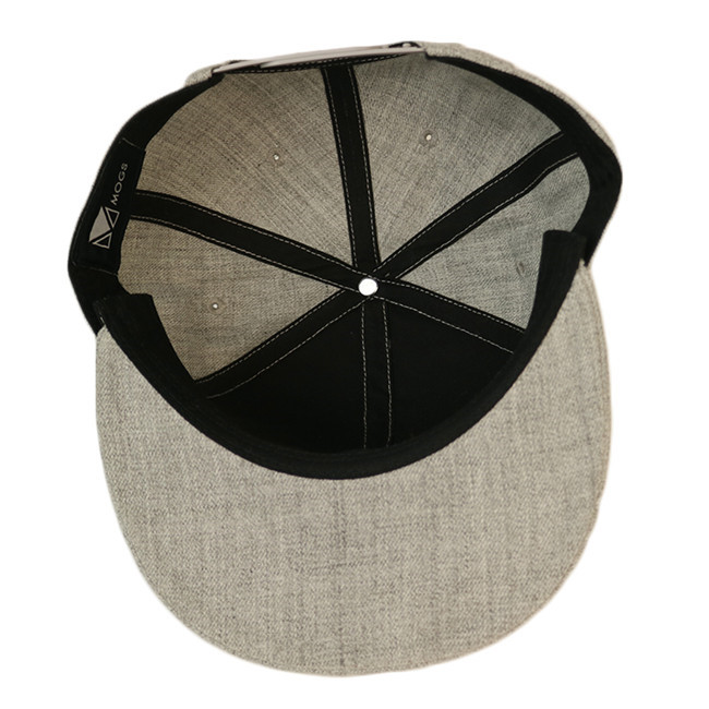 at discount snapback caps wholesale grey OEM for beauty-1