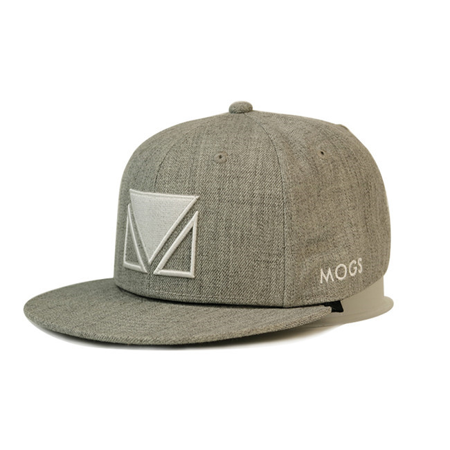 at discount snapback caps wholesale grey OEM for beauty-2