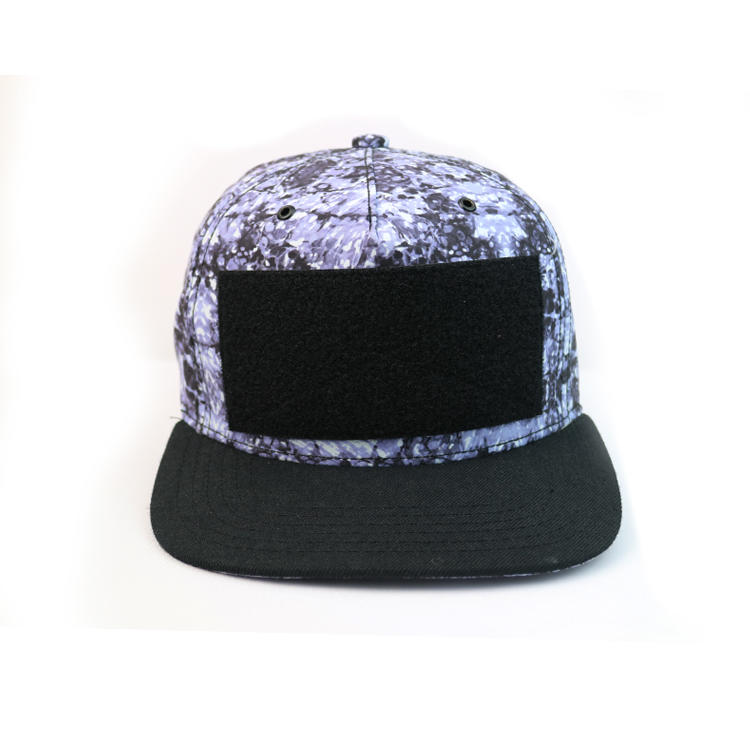 Snapback Cap Sports Cap Type 5-Panel Hat Panel Style With Detachable Logo