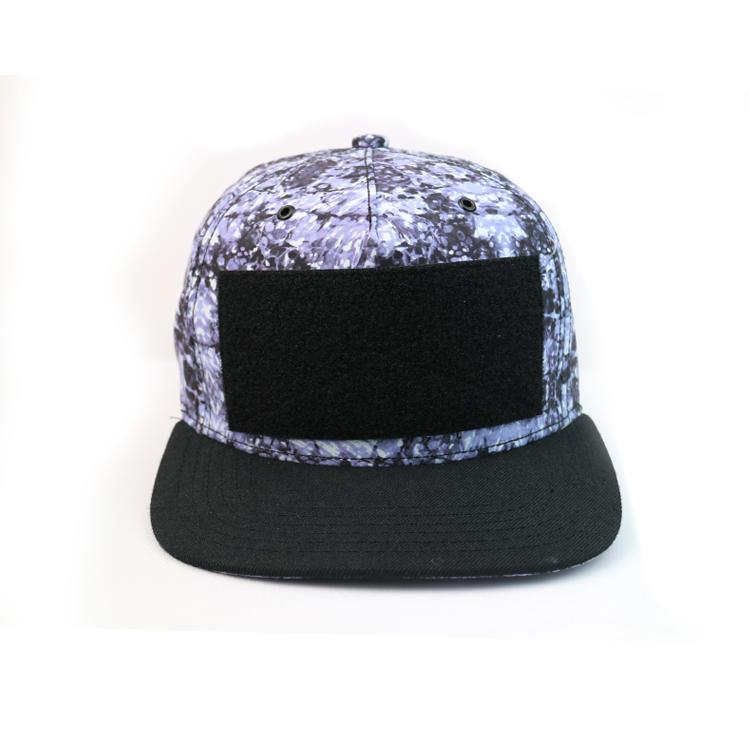 Snapback Cap Sports Cap Type 5-Panel Hat Panel Style With Detachable Logo