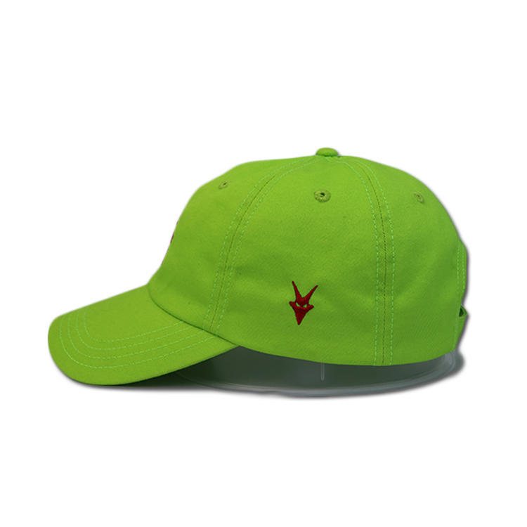 Custom design all kinds of color material and logo design sports hat