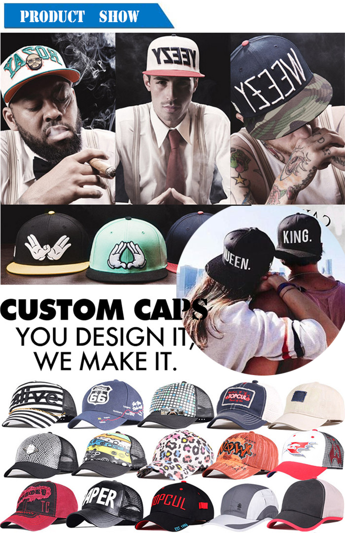 ACE wing cool snapback hats free sample for fashion