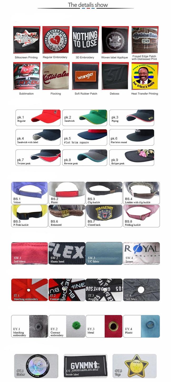 ACE strap fashion baseball caps bulk production for baseball fans-6