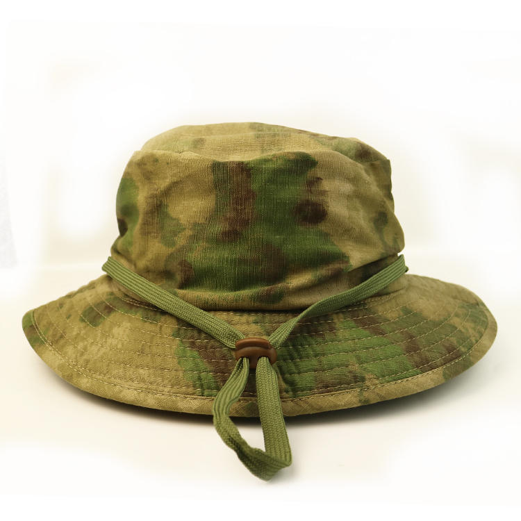 Outdoor Activicty Sunscreen Fishing Military Bucket Digital Camo Hats Caps for Men