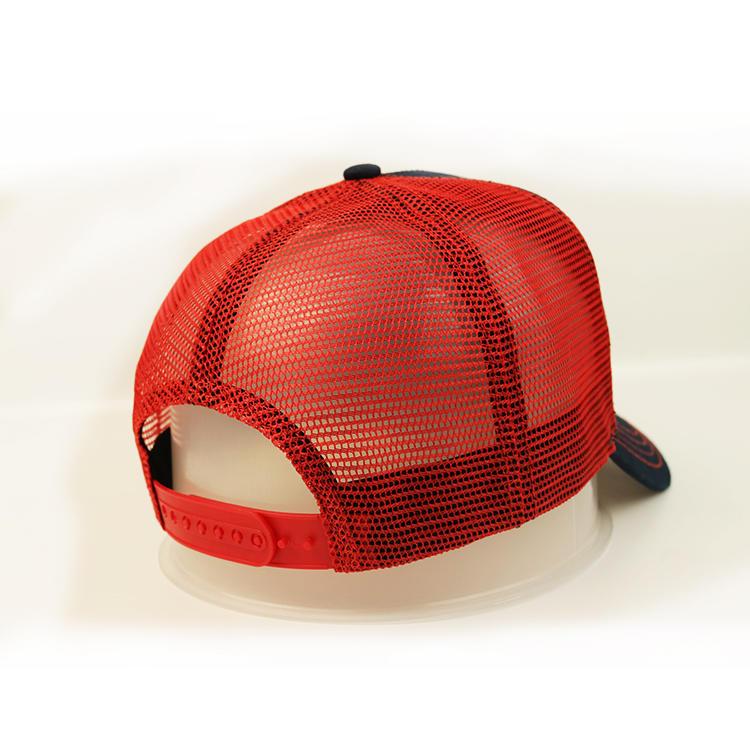 Wholesale Custom Logo 3D Letter Embroidery Blank Trucker Cap Mesh Hat