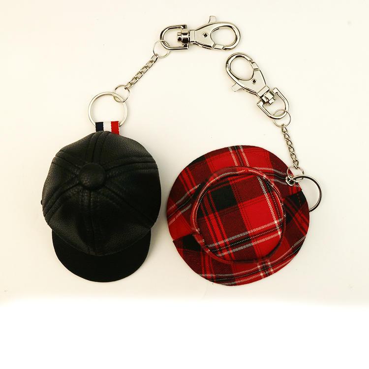 Custom fishing bucket hat or baseabll cap wholesale fisherman bucket hat key ring