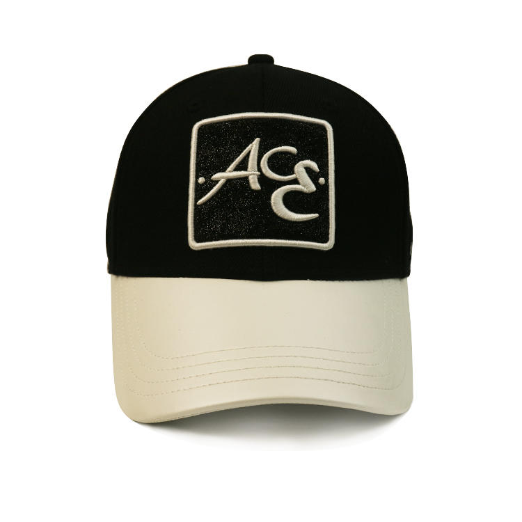 Small minimum order brand quality customized 3D embroidery patch logo curved brim baseball cap hat