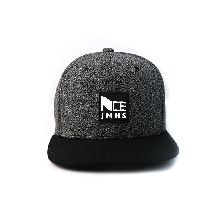 Flat Brim Mix Color 6panel Custom Made rubber printing Logo Hip Hop Snapback Hats