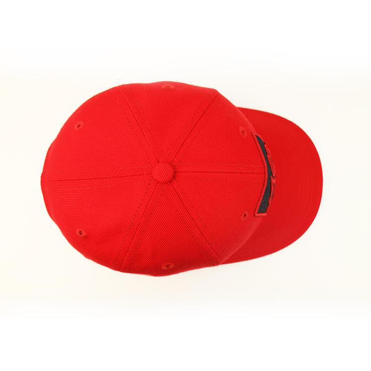 Baseball Cap Promotional Baseball Cap Custom New Embroidered Red Baseball Era Cap Factory
