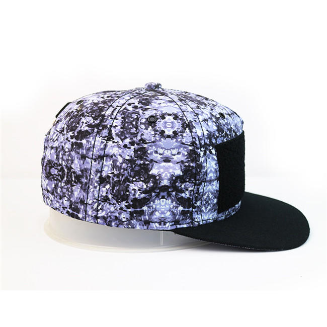 Hot Sales ACE Unisex Creative Graffiti Style Design Sublimination Print Snapback Flat Brim Cap