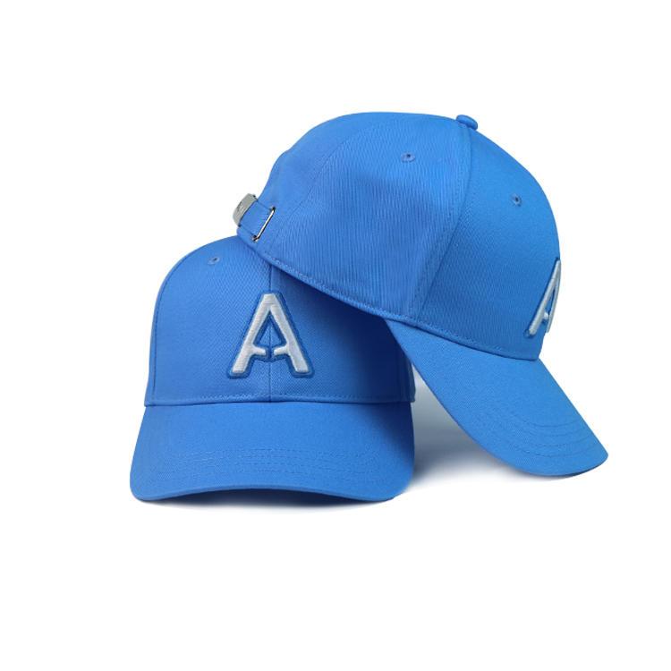 Custom 3D Embroidery Logo Baseball Cap Sport Hats Bsci Cotton Golf Caps