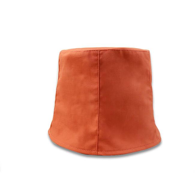 Hot Sales ACE Custom Flat Embroidery Logo Soft Bucket Fisherman Cap Winter Cap Orange Women Men Fishing Hat
