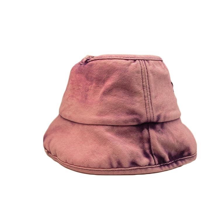 on-sale white bucket hat short customization for beauty-3