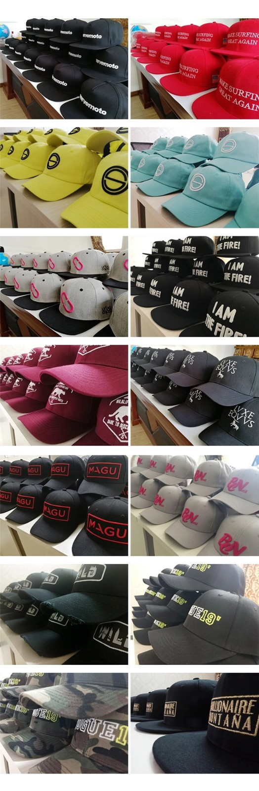 ACE genuine types of baseball caps customization for beauty-8