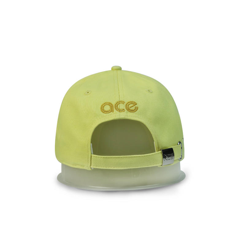ACE 6 Panel Custom 3d Embroidery Logo Hat Baseball Cap Cotton Golf Caps.