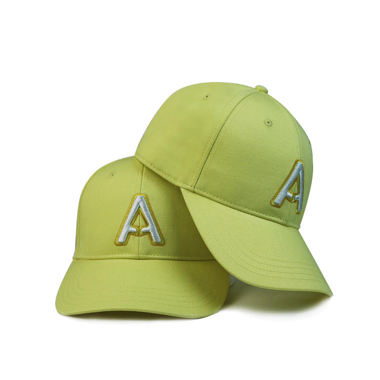 ACE 6 Panel Custom 3d Embroidery Logo Hat Baseball Cap Cotton Golf Caps.