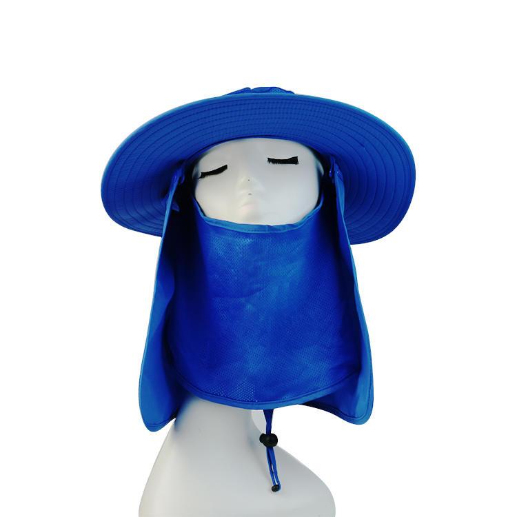 Outdoor summer sun hat waterproof and ultraviolet-proof fishing cap