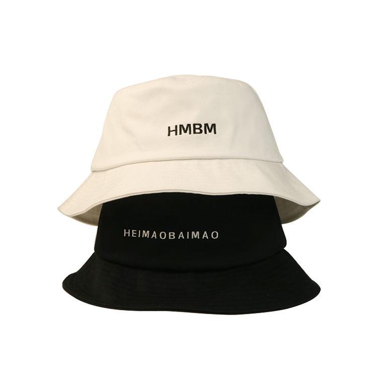 2020 Outdoor Custom Logo Bucket Hat Cotton Fisherman Sun Hats