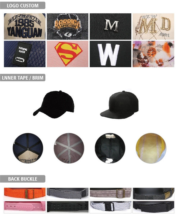 portable blank snapback hats cotton supplier for fashion-3