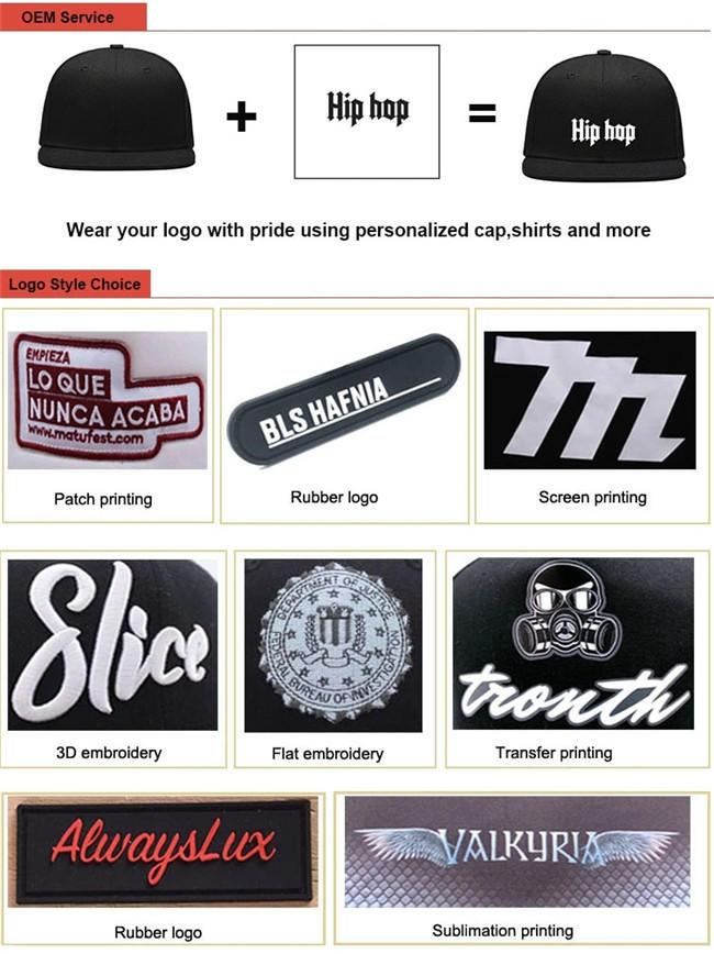 ACE latest custom snapback caps OEM for beauty