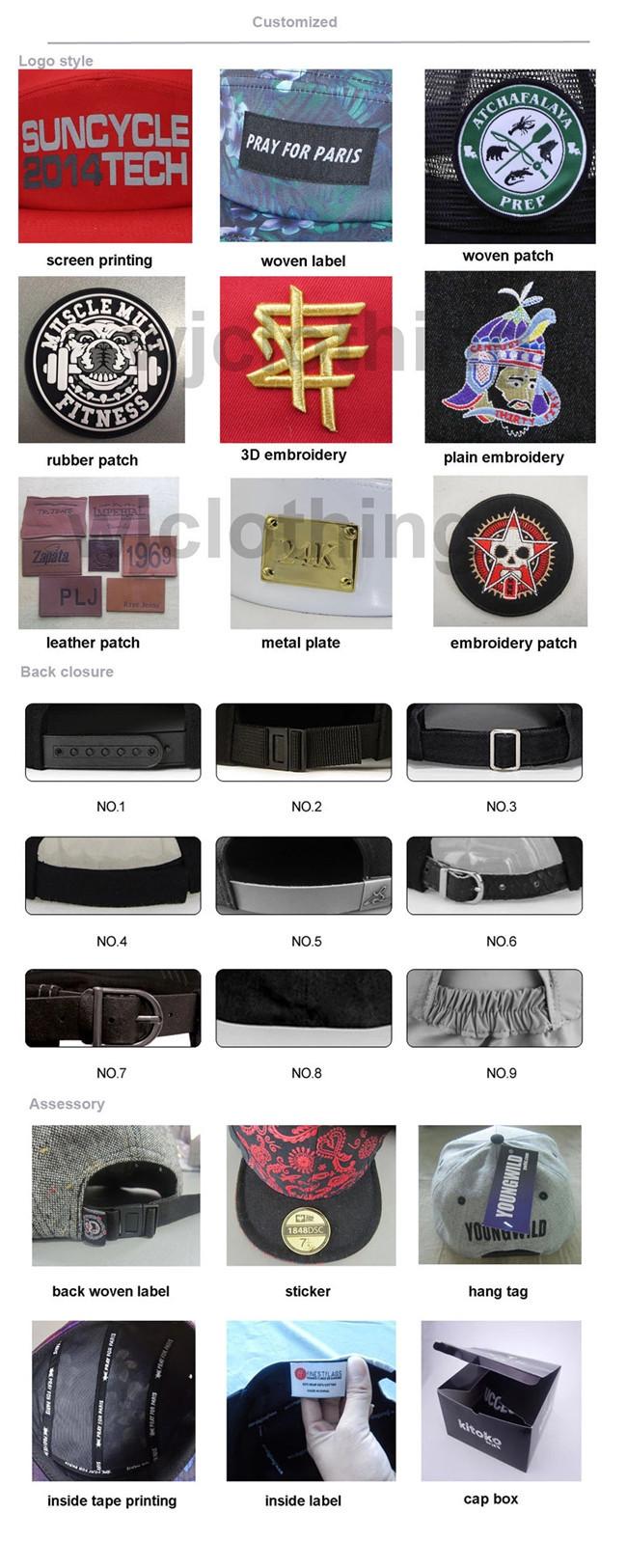 ACE durable custom snapback caps free sample for fashion-7