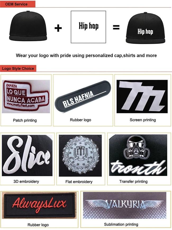 ACE durable custom snapback caps free sample for fashion-9