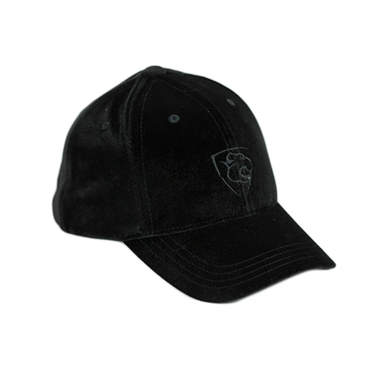 High Quality Flocking Fabric Winter Soft Warm Baseball Curve Brim Hat Cap