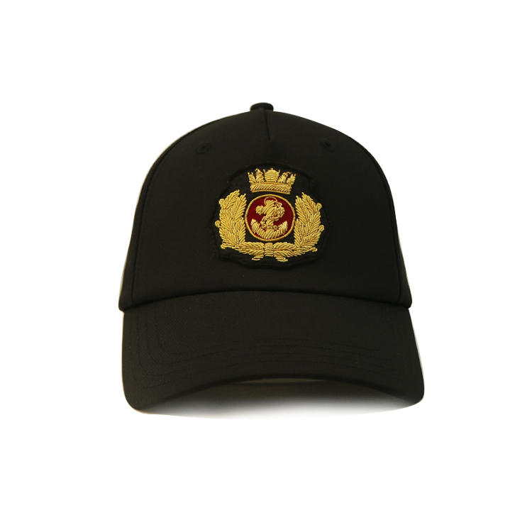 Hot sales custom logo patch curve brim baseball cap hat