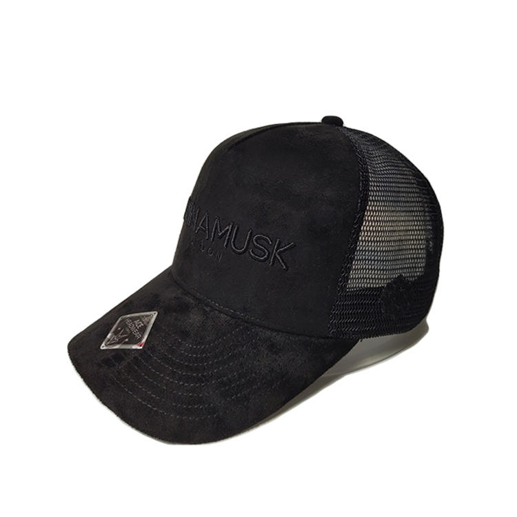 Custom Embroidery Baseball Cap Hat Summer Breathable Mesh Trucker Cap