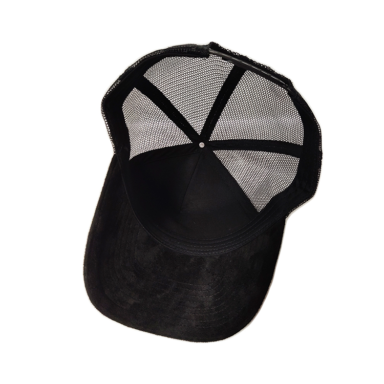 ACE leather white trucker cap bulk production for beauty-3