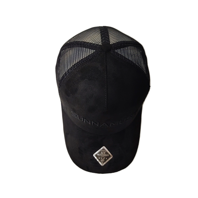 ACE leather white trucker cap bulk production for beauty-1