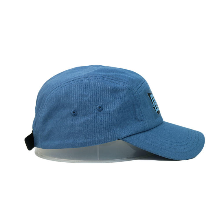 Custom 5panel Wide Curve Brim Water Offset Printing Ace Camper Camping Running Hats
