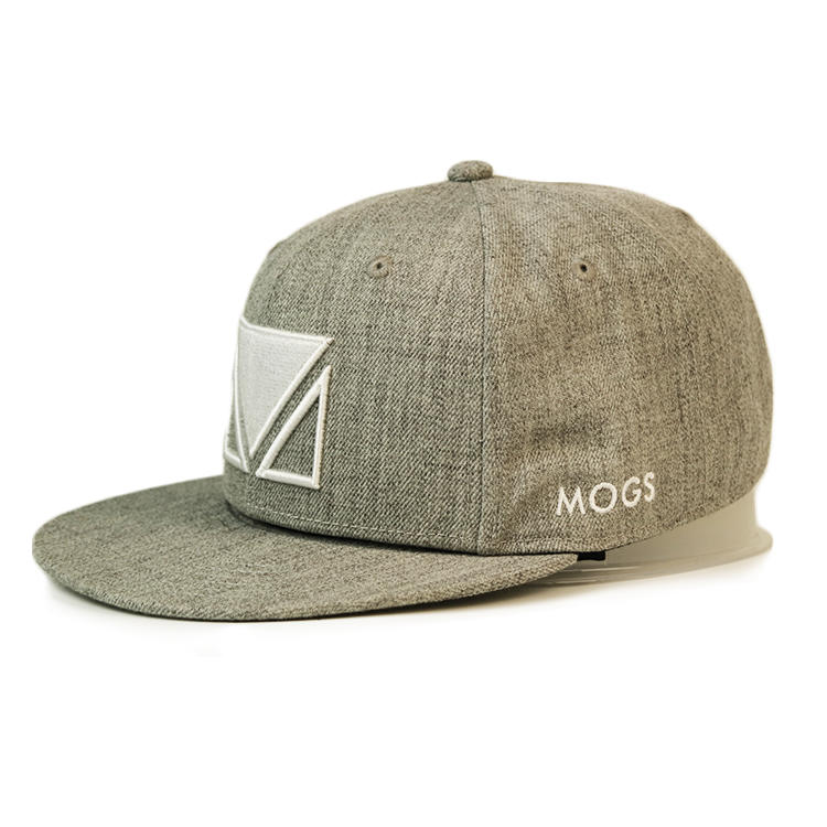 100% Cotton Embroidery Front Logo Private Label Snapback Hats Caps