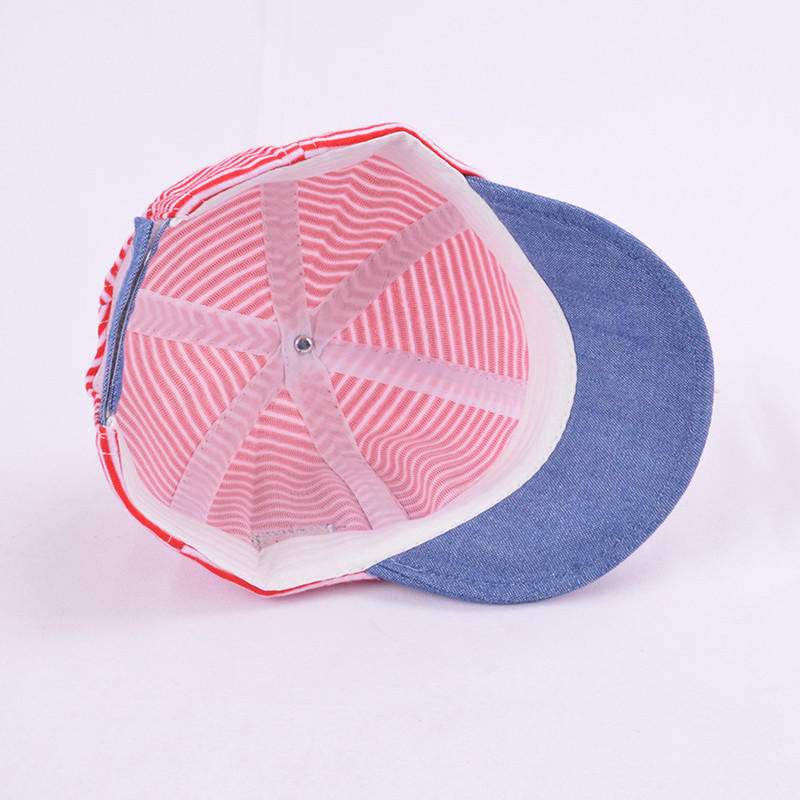 BSCI audit children baseball hat baby hat snapback cap  with label for wholesale