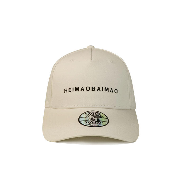 Adults Custom Baseball Cap With Metal Buckle 3d Embroidery Logo / 6 Panel Cotton Hat
