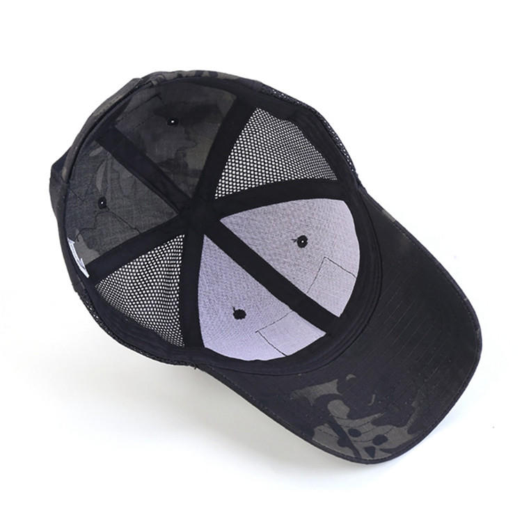 China Supplier OEM New Design Tactical Outdoor Custom Camo Baseball Cap and Hat