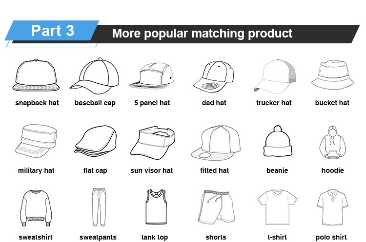 latest white baseball cap fabric supplier for fashion-7