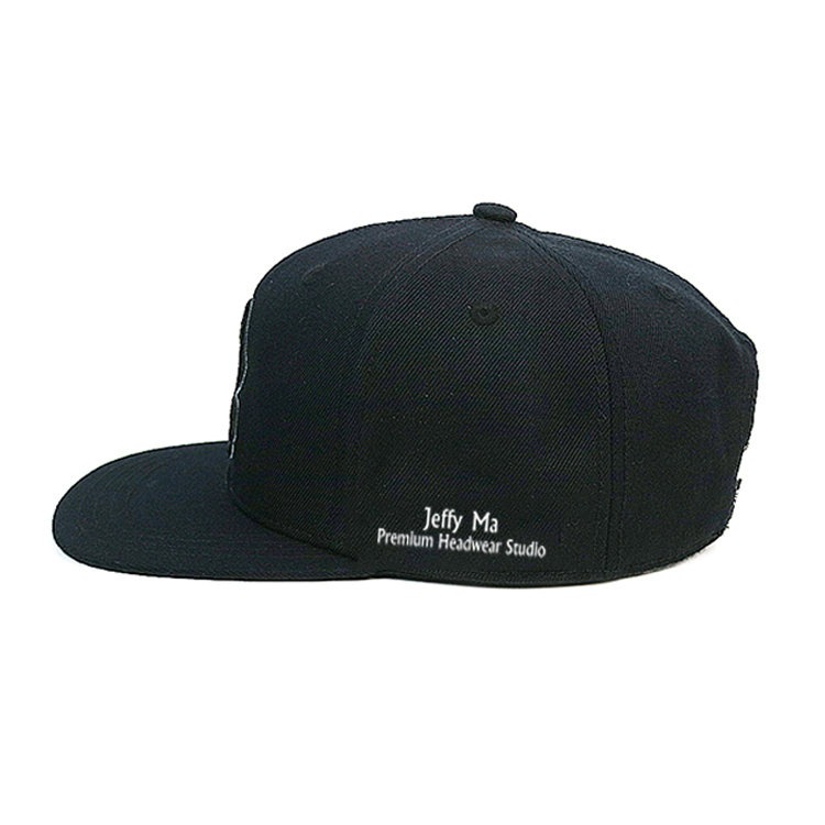 ACE pringting mens black snapback hats for wholesale for fashion-11