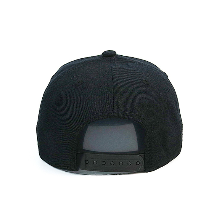 ACE pringting mens black snapback hats for wholesale for fashion-12