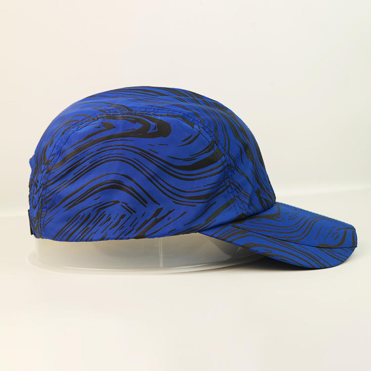 high quality custom logo special fabric unconstructed dad cap