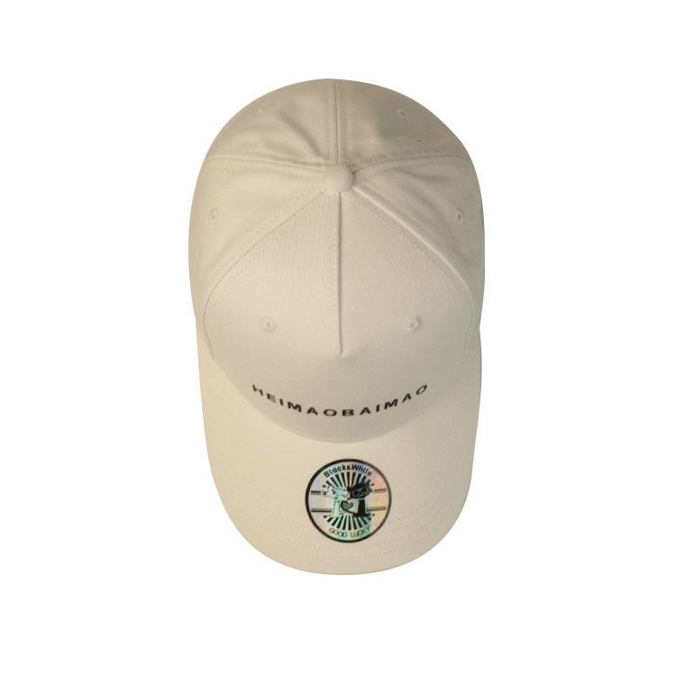 6 Panel Baseball Cap printing Custom Logo Curved Bill Baseball Cap