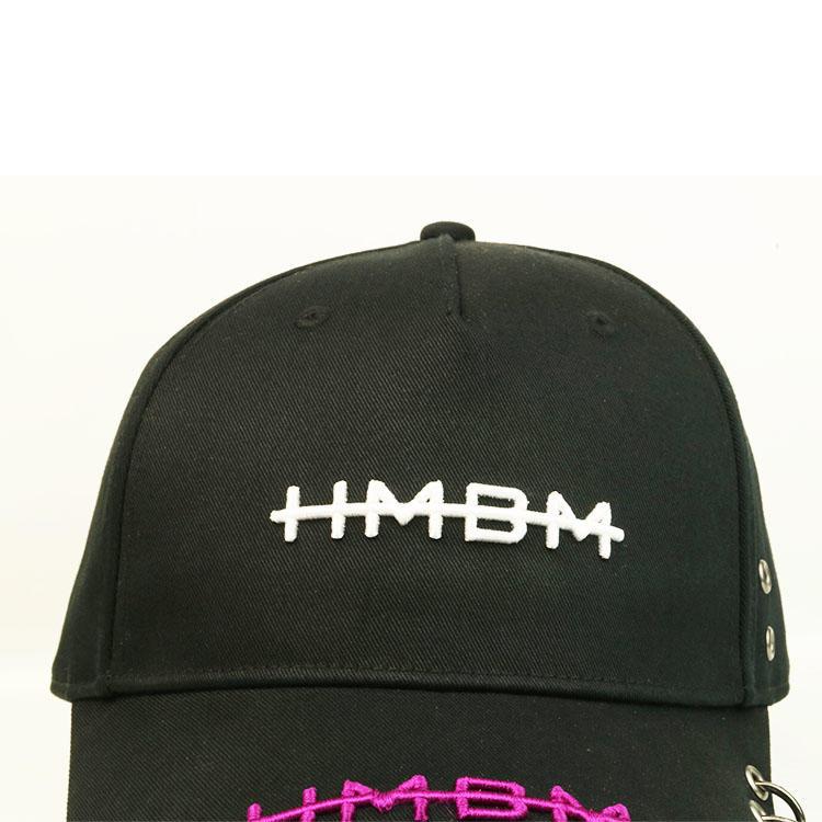 3D Custom Logo Men Cotton Hat 6 Panel Embroidered Dad Hats Heat Transfer Printing