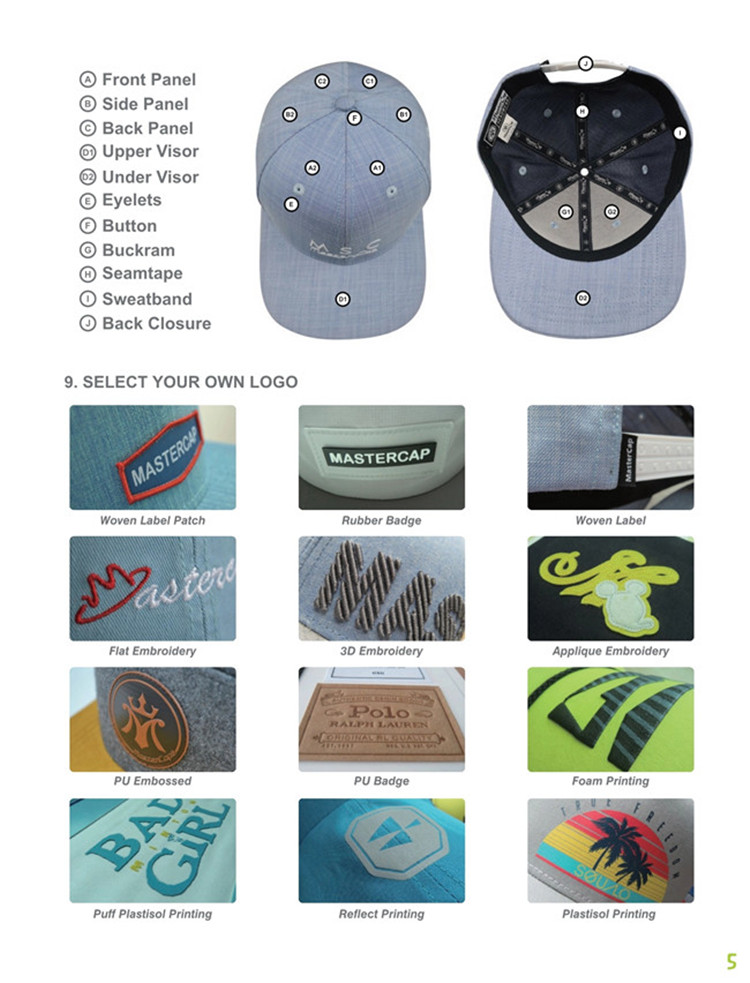 portable best baseball caps cotton supplier for beauty-9