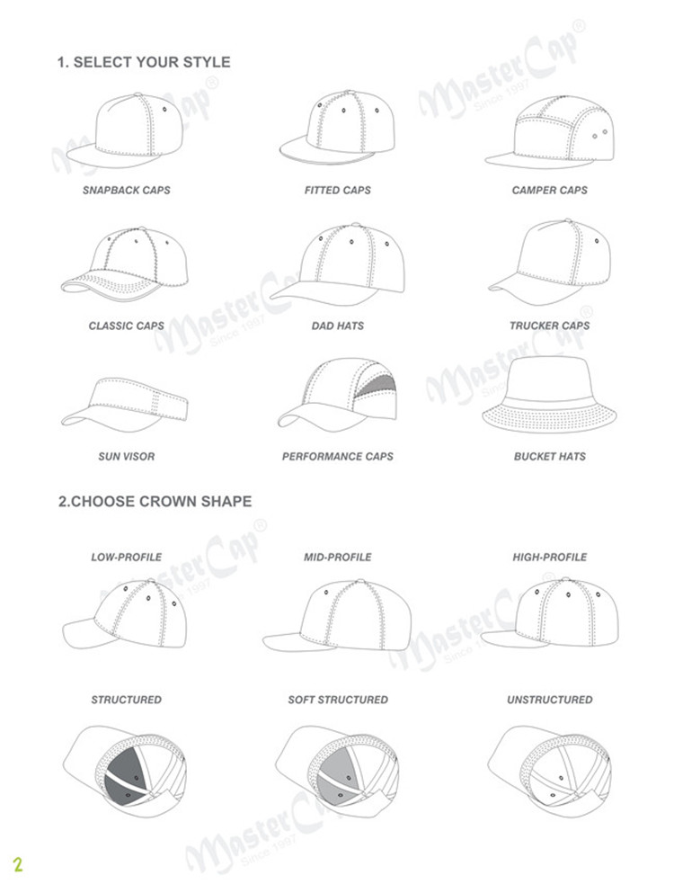 latest plain baseball caps buckle OEM for beauty-6