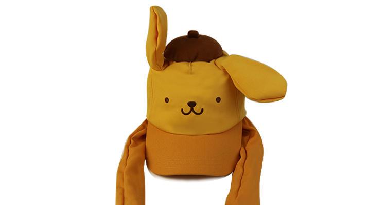 New Style Cartoon Anime Yellow Pikachu Led Plush Air Pumping Moving Ears Animal Children Kids Hats Caps