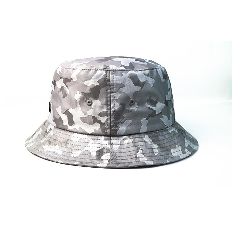 Factory directly supply custom print pattern casual cotton bucket hat