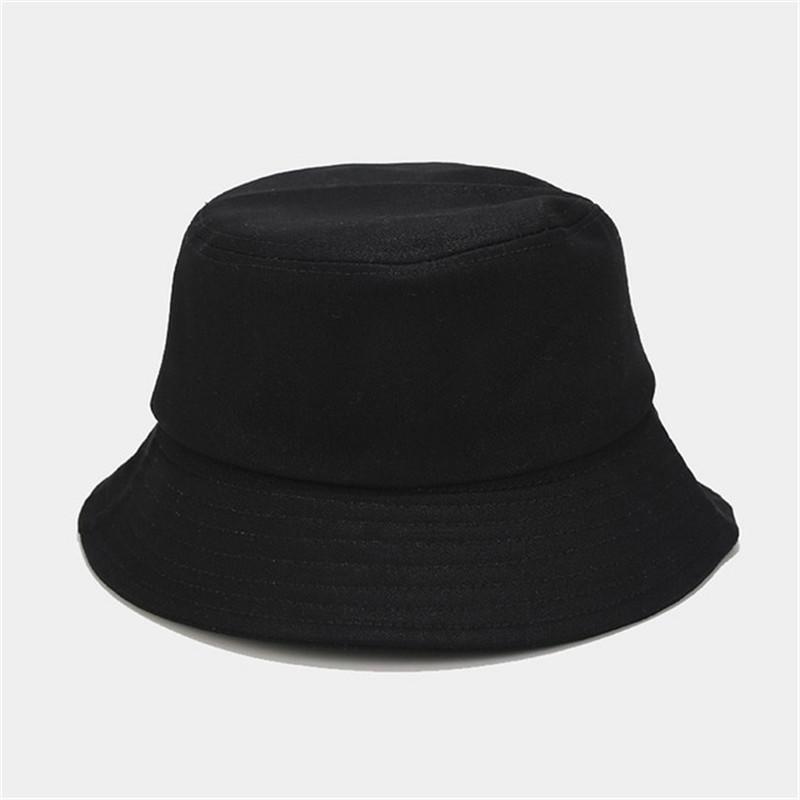 Unisex Summer Foldable Bucket Hat Outdoor Sunscreen Cotton Fishing Cap