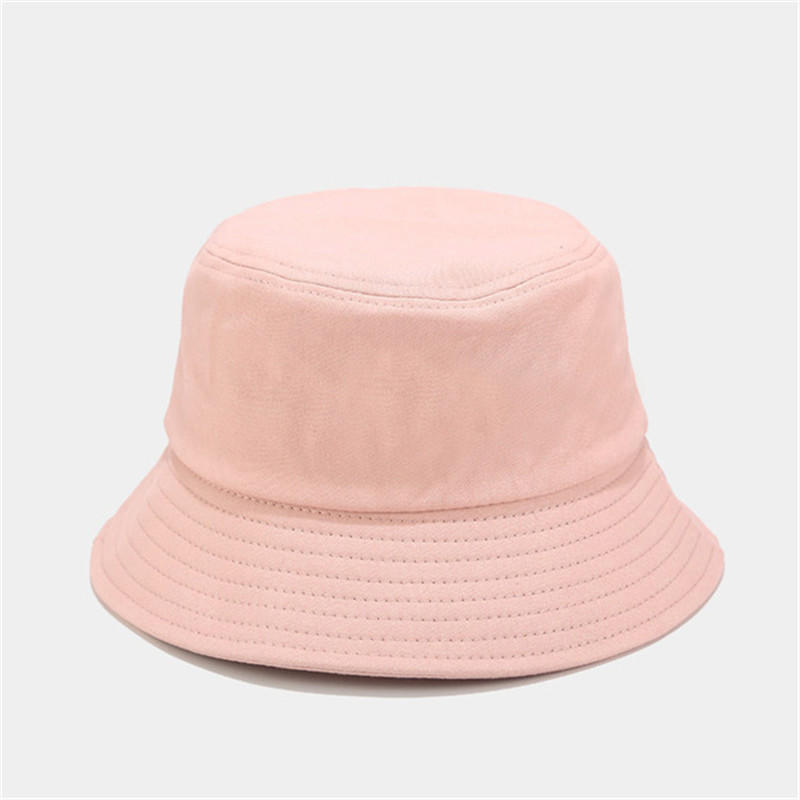 Unisex Summer Foldable Bucket Hat Outdoor Sunscreen Cotton Fishing Cap